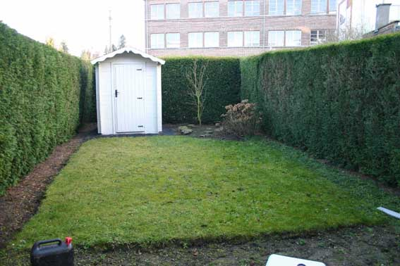 Avant petit jardin urbain 80m mouscron - Petit jardin urbain nice ...