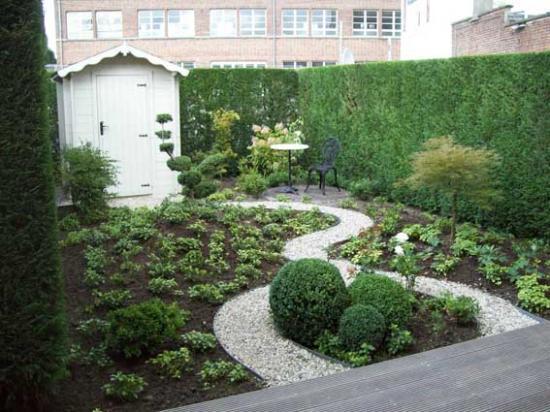 Après petit jardin urbain    80m² Mouscron