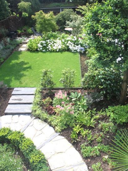 petit jardin citadin 200m² après