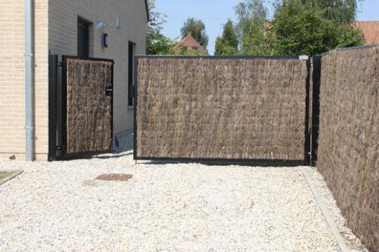 Après Pose d'écran de nattes de bruyères  à Mouscron